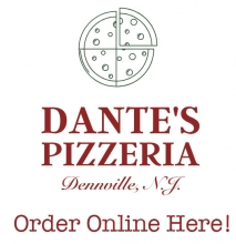 Dantes Pizza Denville NJ 07834