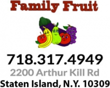 Family Fruit Arthur Kill Rd Staten Island 10309