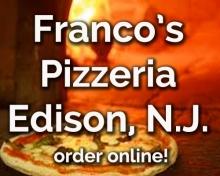 Franco's Pizza Edison N.J. 08817