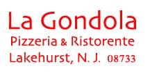 La gondola Pizza Lakehurst N.J. 08733
