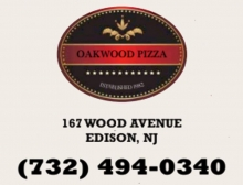 Oakwood  Pizza Edison N.J. 08820